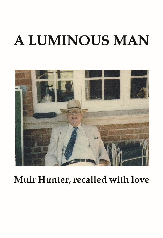 A Luminous Man, front cover
