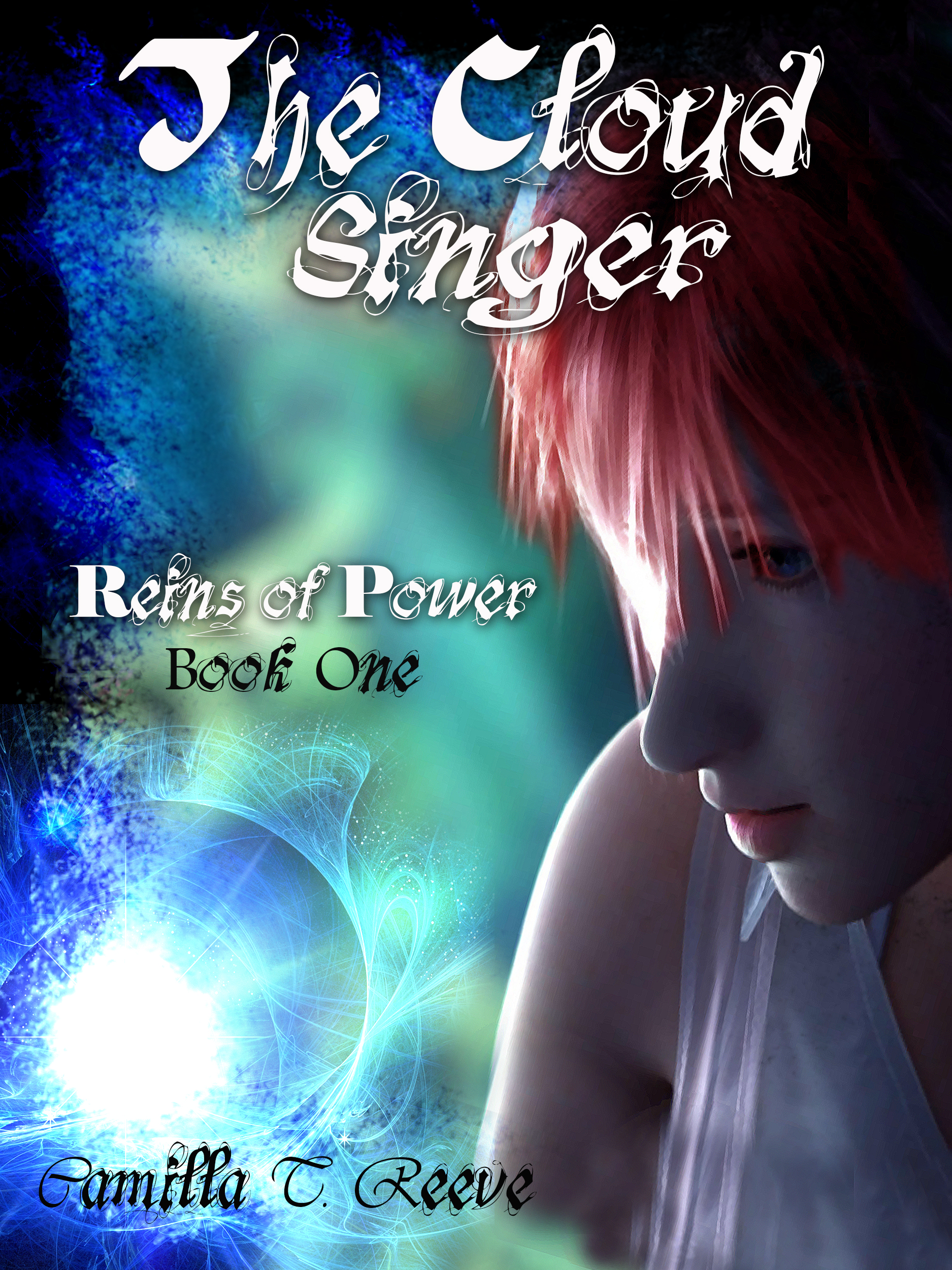 The Cloud Singer, front cover