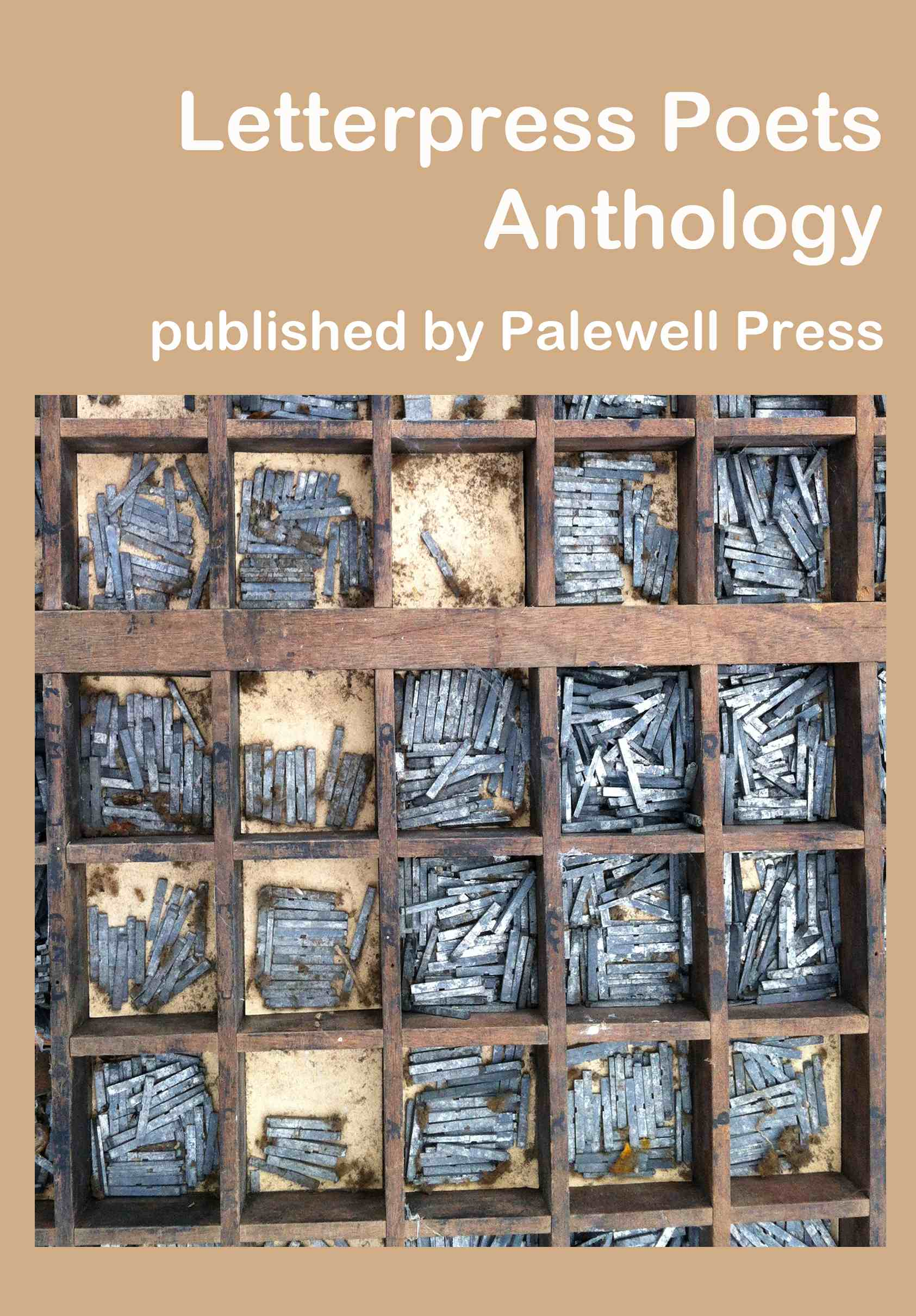 Front cover of Letterpress Poets Anthology