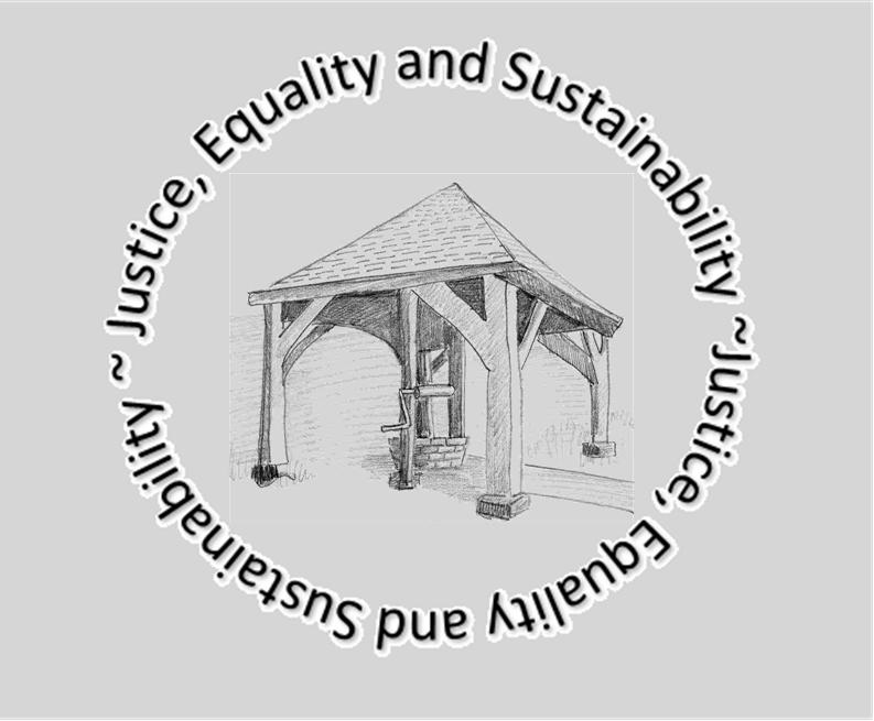 Justice, Equality & Sustainability - motto around Well